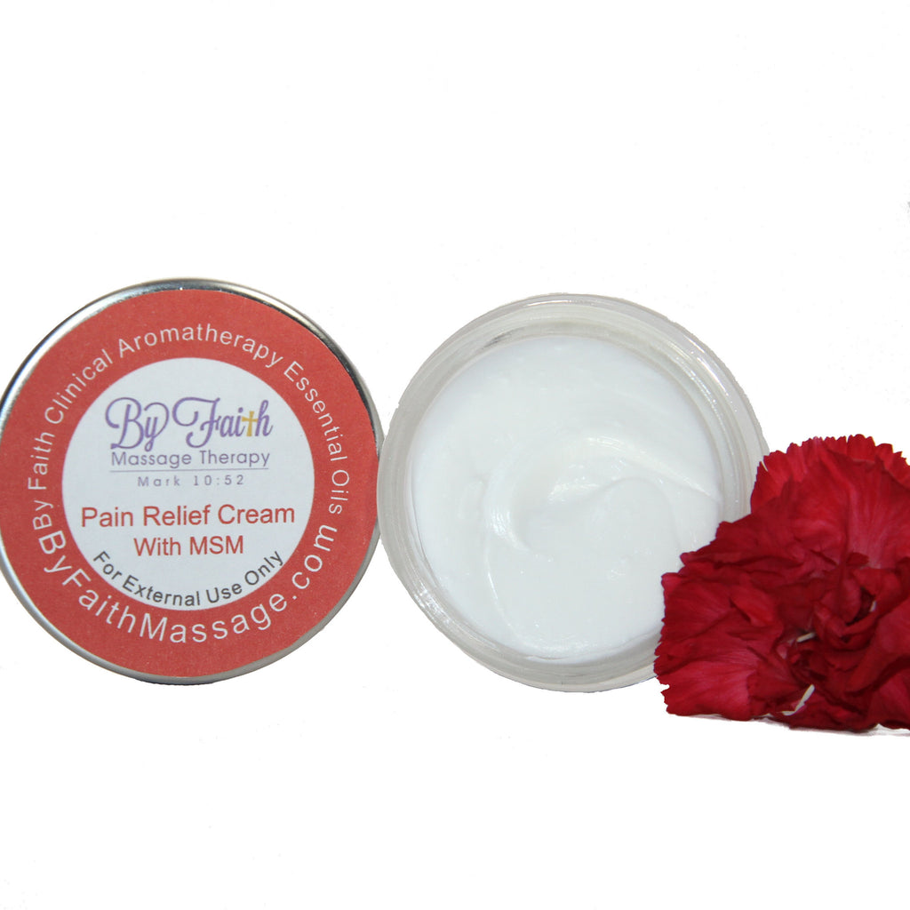 Organic Pain Relief Cream - By Faith Essential Oils