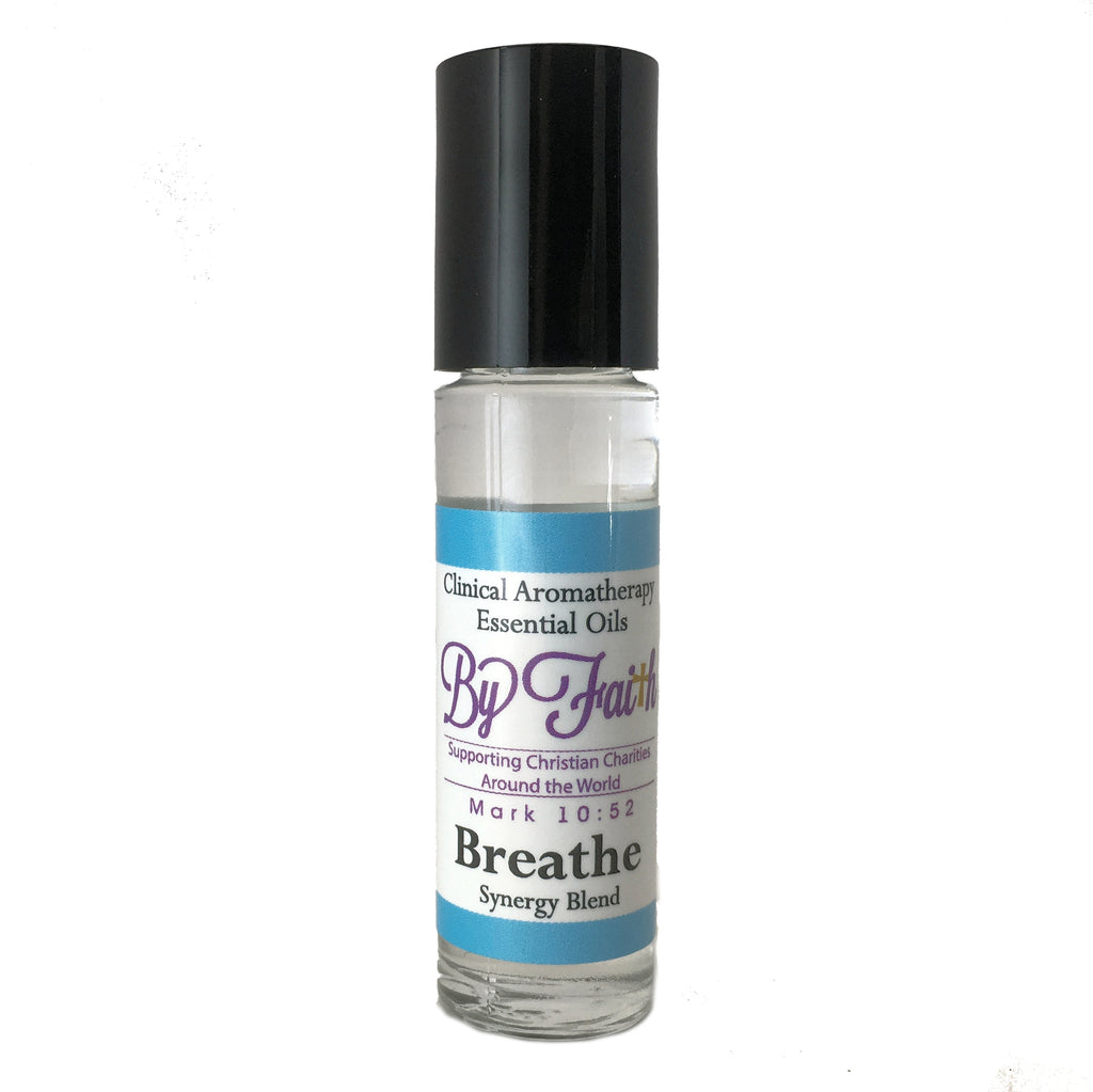Breathe Roller - By Faith Essential Oils