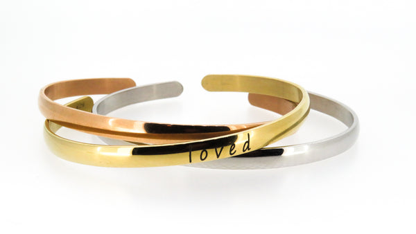 Classic Cuff Bangles - FREE Engraving