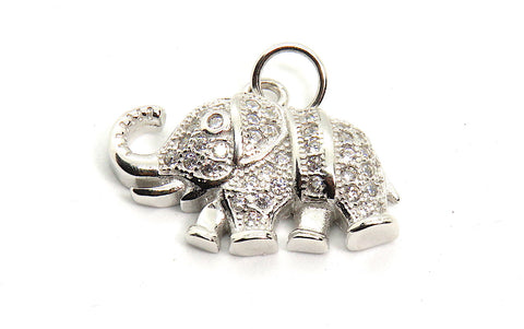 Elephant Charm small in Sterling Silver