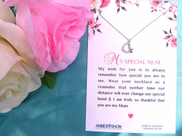 Sterling Silver Necklace - My Special Mum