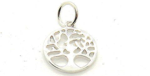Tree of Life Charm small in Sterling Silver