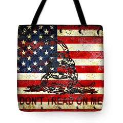 Pro Gun, Pro 2nd Amendment, American Flag Themed Tote Bags