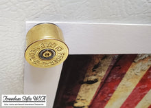 Load image into Gallery viewer, 12 Gauge Federal Gold Medal Magnet close up side