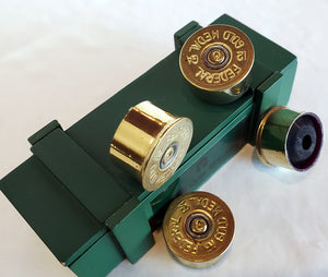 12 gauge guitar knobs with ammo box - set of 4