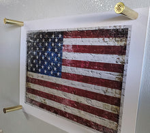 Load image into Gallery viewer, 45-70 Government Brass magnets with American Flag Print