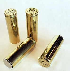 500 S&W Magnum Brass Magnets - Set of 4