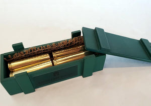 500 S&W Magnum Brass Magnets in ammo box