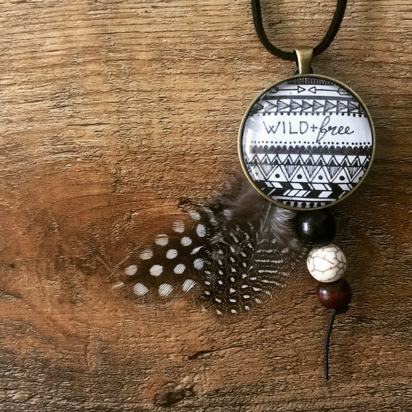 Wild & Free - Necklace
