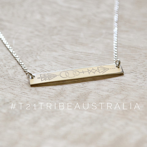 T21 Tribe Bar Necklace PRE ORDER