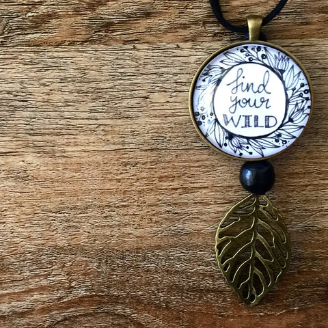 Find Your Wild - Necklace