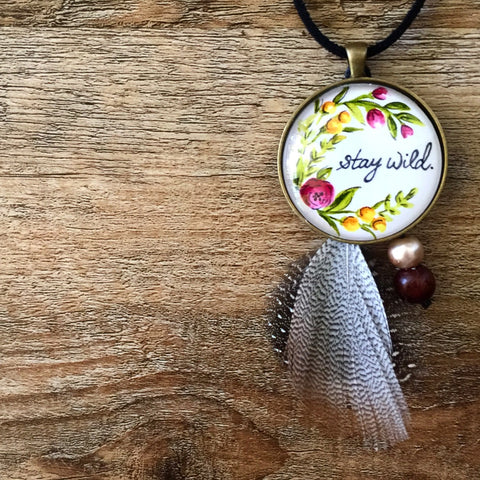 Stay Wild - Necklace