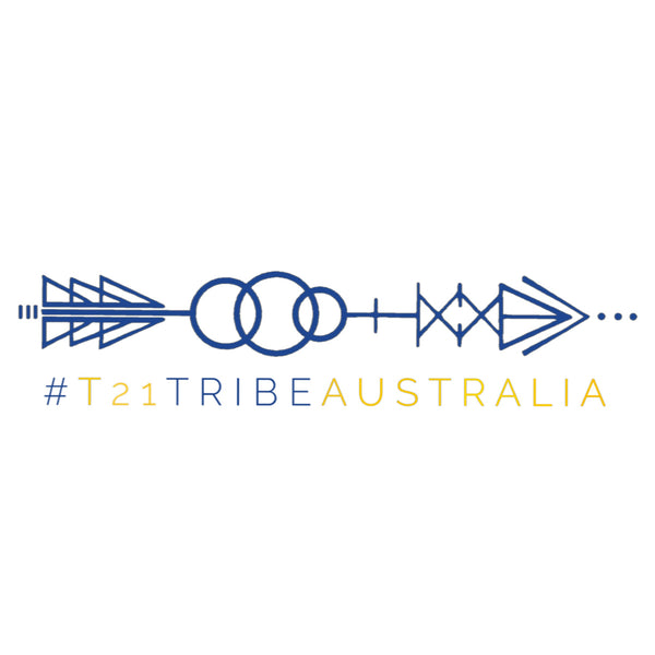 T21 Tribe Sticker (Large) PRE ORDER