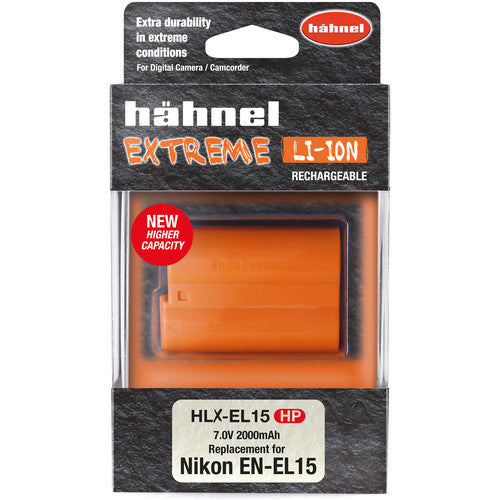 hahnel HLX-EL15HP Extreme Lithium-Ion Rechargeable Battery (7V, 2000mAh)
