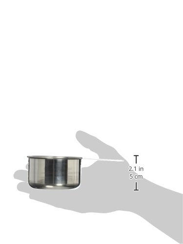 Australia Crestware Stainless Steel Measuring Cup Set One Quarter Cup, One Third Cup, Half Cup, 1 Cup Measures