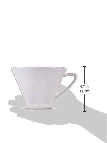 Cilio Porcelain No. 4 Coffee Filter Holder
