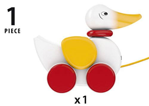 Australia BRIO Pull Along Duck Baby Toy