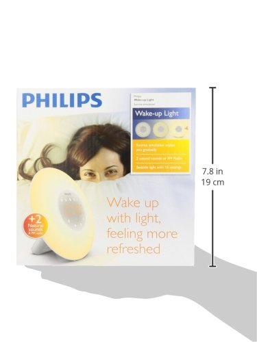 Philips Wake-Up Light Alarm Clock and Radio Australia HF3505