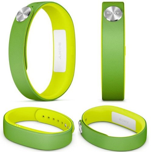 GENUINE Sony SmartBand SWR10 Lifelog Bluetooth Body Tracker NFC for Android 4.4 GREEN- (2014 FIFA World Cup Brazil Edition)