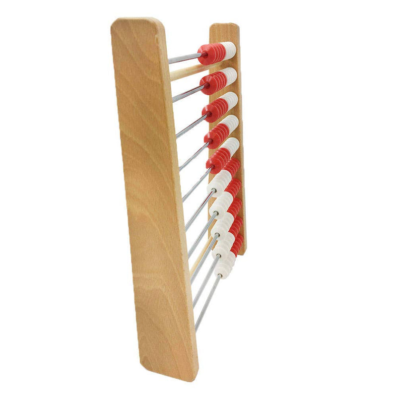 hand2mind 100-Bead Wood Rekenrek, Math Counting Frame (Ages 4+)