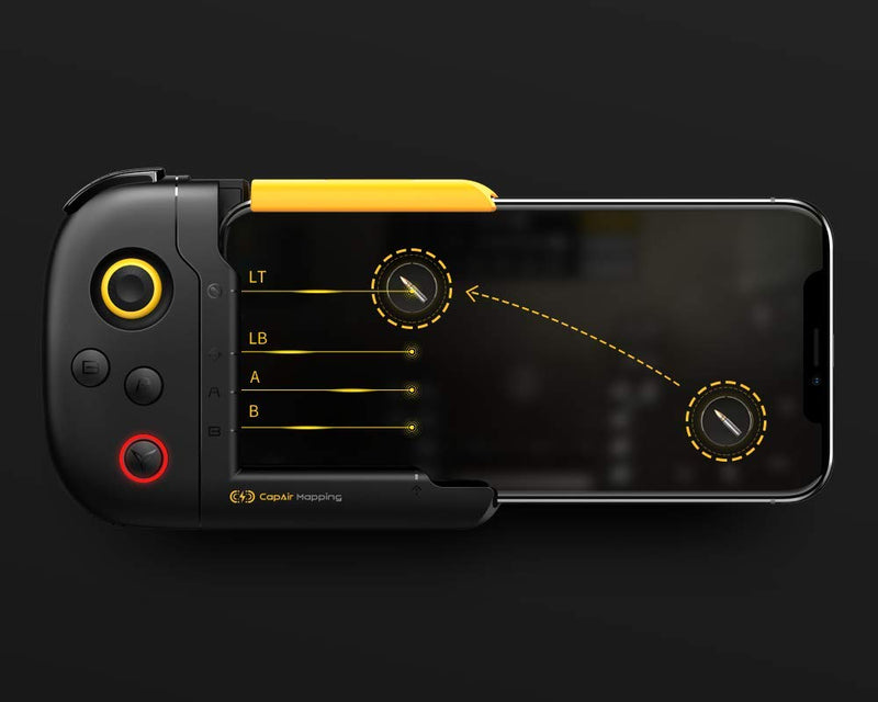 Australia Flydigi Wasp-N One-Handed Gamepad Innovative for iOS Mobile No Connection Required Compatible with All Games from App Store