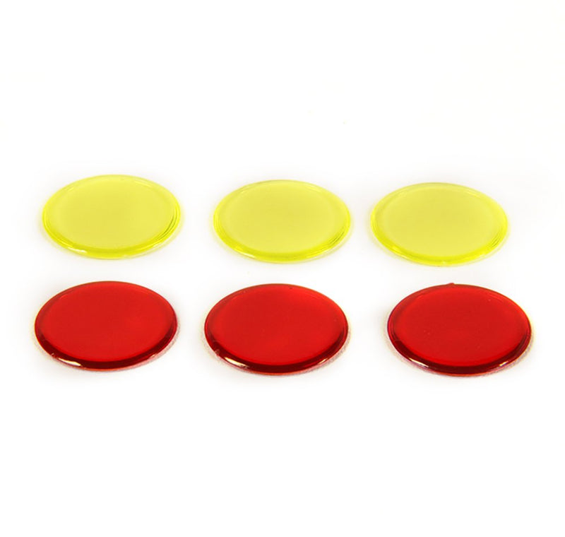 hand2mind Foam, Round, Two-Color Counters, Quiet Math Tokens, Classroom Bulk Kit (Set of 1000)