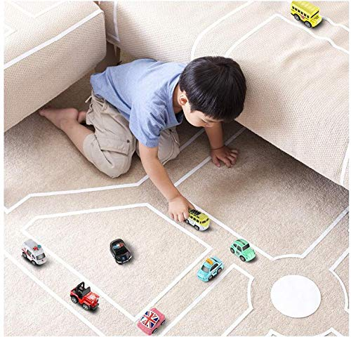 Australia GEYIIE Pull Back Cars,8 Pack Mini Cars Set Alloy Micro Machines,Pull Back Vehicles Toy Cars for Toddlers Kids Boys Girls Gift