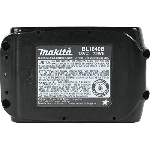 Australia Makita BL1840B 18V LXT Lithium-Ion 4.0Ah Battery