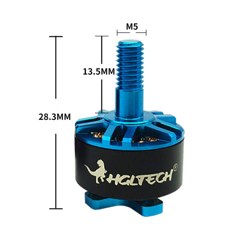 Australia HGLRC 4 PCS Flame 1407 Brushless Motor 3600KV 3-4S Blue Motor for FPV Multicopter Quadcopter