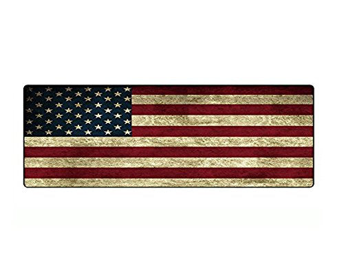 Australia 31.5 x 11.8 Inch American Flag Large Mouse Pad Stitched Edges Mousepad Non-Slip Rubber Mouse Mat Gaming Keyboard Mat