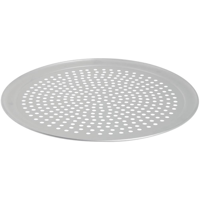 "Australia HUBERT Pizza Screen Perforated Aluminum - 18"" Dia"