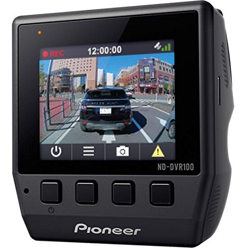 Australia Pioneer ND-DVR100 Low profile Full 1080P HD Dash Camera with 2-Inch Display, 140 Ultra-wide Viewing Angle, G-Sensor & Built-in GPS