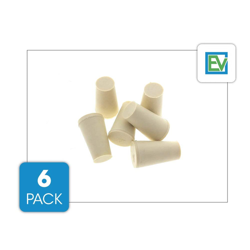 6 Pack Replacement Stoppers/Plugs For Toddy and Filtron Cold Brew Systems, by Essential Values