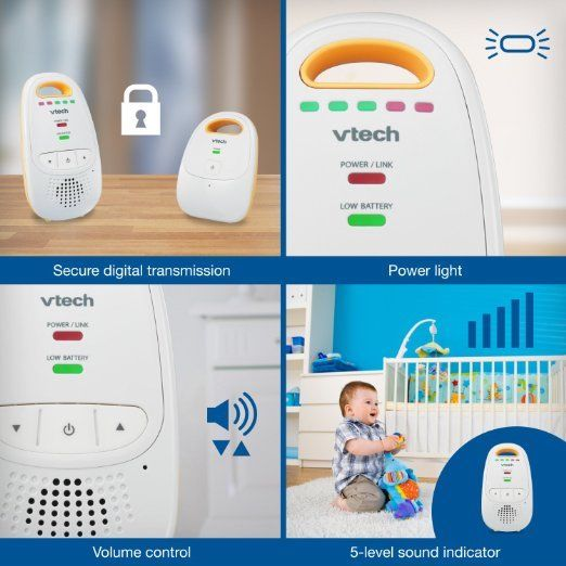 VTech Audio Baby Monitor with up to 1,000 ft of Range