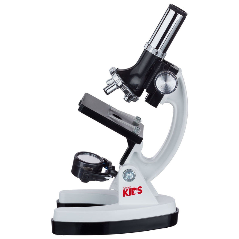 Australia AMSCOPE-KIDS M30-ABS-KT2-W Microscope Kit with Metal Arm and Base