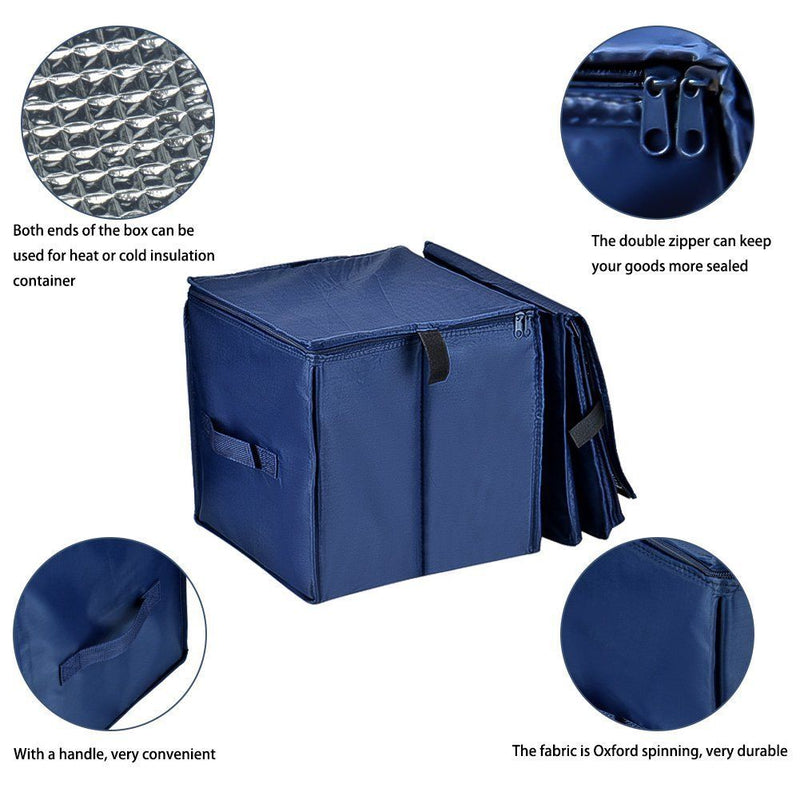 Collapsible Car Trunk Organizer, Cozyswan Fabric Auto Trunk Storage Container