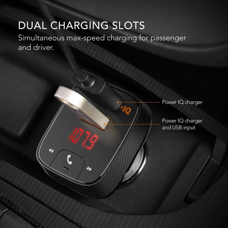 [NEW] Anker Roav SmartCharge Car Kit F2 Wireless In-Car FM Transmitter Radio - CocoonPower Australia