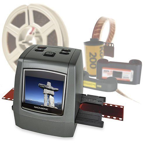 Magnasonic All-In-One High Resolution 22MP Film Scanner Converts Films