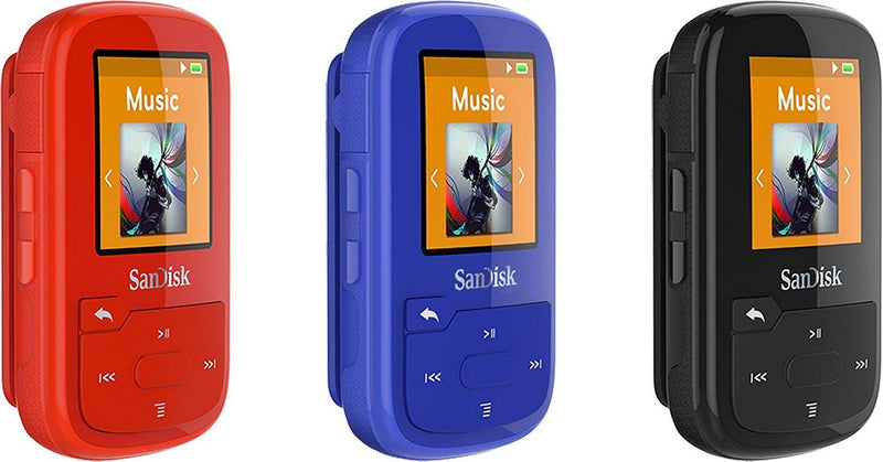 SanDisk Australia SDMX28-016G-G46K Clip Sport Plus MP3 Player 16GB