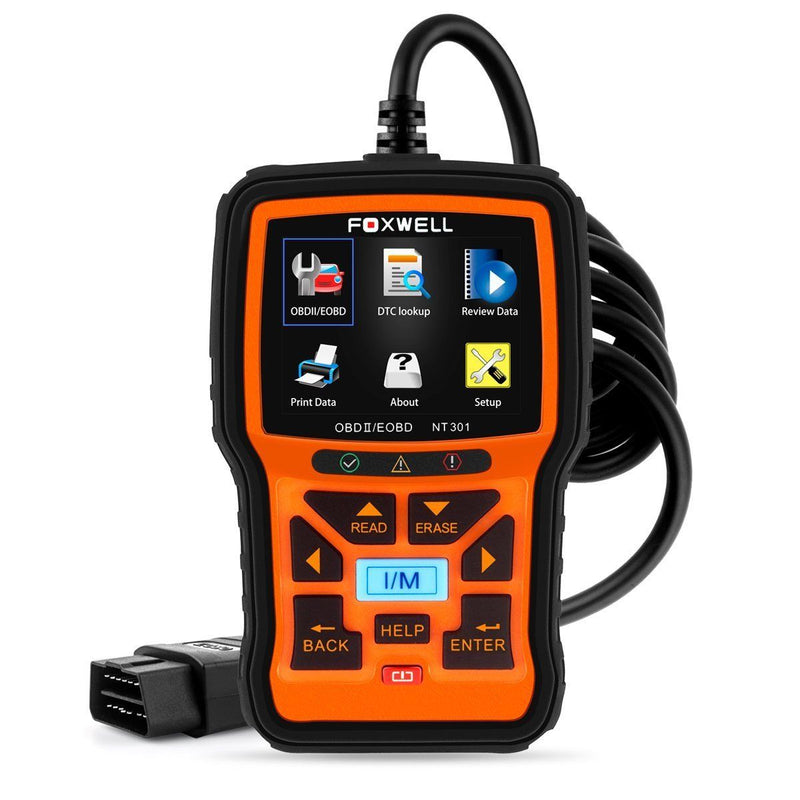 FOXWELL NT301 Car Obd2 Code Scanner Universal Check Engine Light Diagnostic Tool