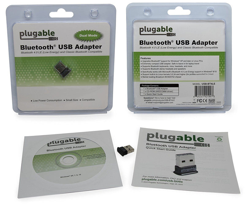 Plugable USB Bluetooth 4.0 Low Energy Micro Adapter Australia
