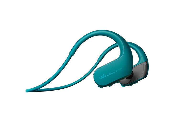 Australia Sony Australia NWWS413LM 4GB Sports Wearable MP3 Player Earbuds Wireless Waterproof (Blue)