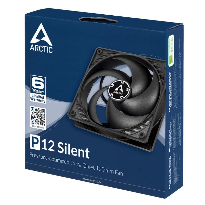 Australia ARCTIC P12 Silent - Pressure-optimised Extra Quiet 120 mm Fan