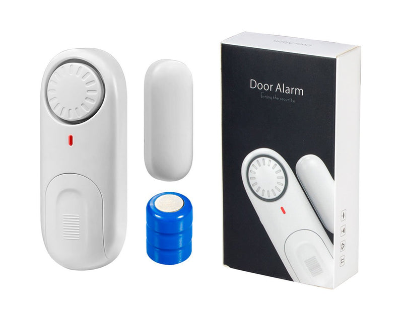 Australia Fuers Security Window/Door Alarm Contacts,2-Pack,Battery Operated Wireless Burglar Alert Magnetic Sensor Alarm Easy Installation DIY Protection for Home, Garage,Apartment,Office,Kids Safety,Travel