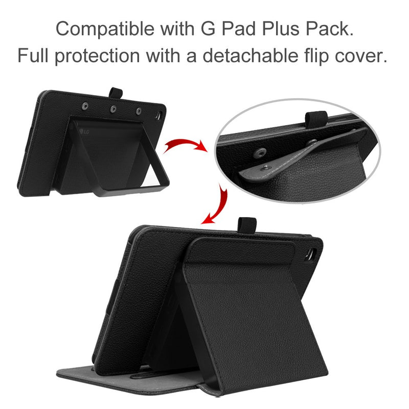 Australia Fintie T-Mobile LG G Pad X2 8.0 Plus Case (Support Extra Battery Plus Pack), Multi-Angle Viewing Stand Cover for LG GPad X2 8.0 Plus T-Mobile Model V530 8-Inch Android Tablet 2017 Release, Black