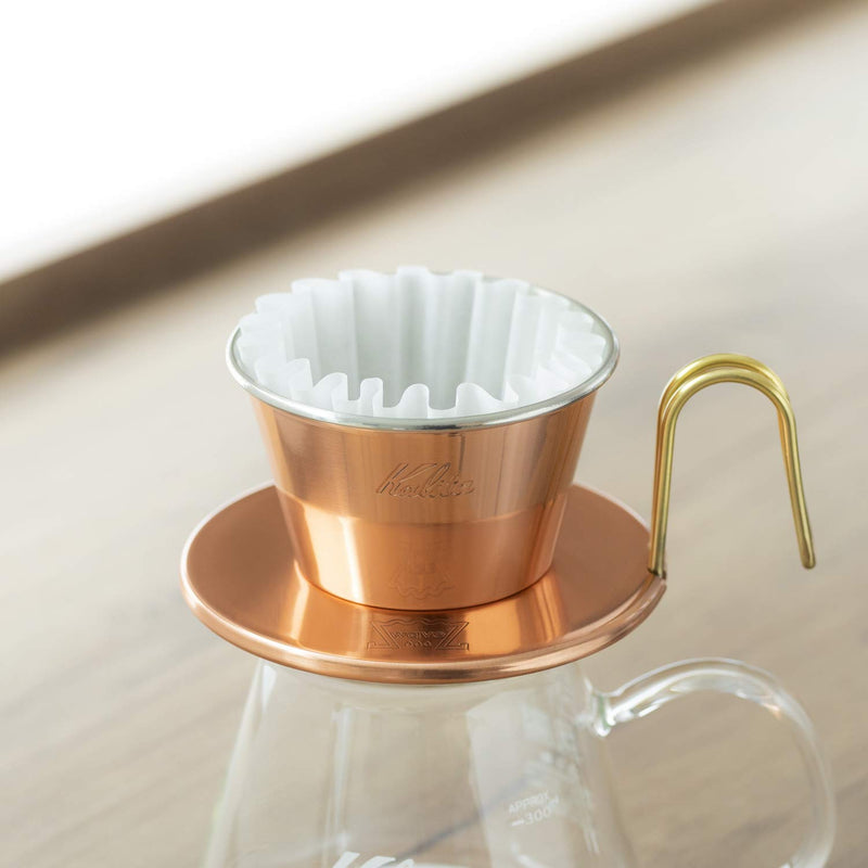Kalita: Wave Series Wave Filter KWF-155 [1-2 persons] White , 100 sheets # 22213
