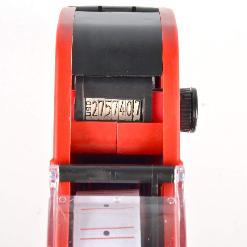 Australia Wild-us MX5500 EOS Red 8 Digits Pricing Gun Kit with 7,000 Labels & Spare Ink