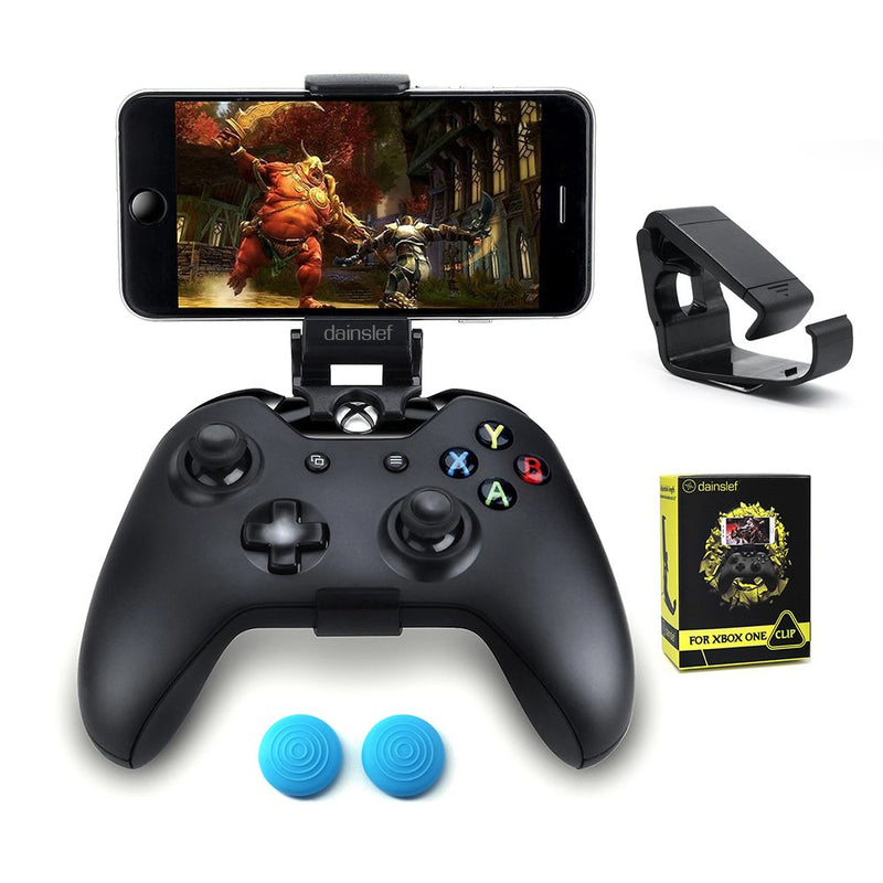 Australia dainslef Xbox One Controller Foldable Mobile Phone Holder Smartphone Clamp Game Clip for Microsoft Xbox One S Game Controller Steelseries Nimbus Duo for iPhone Samsung Sony HTC LG Huawei