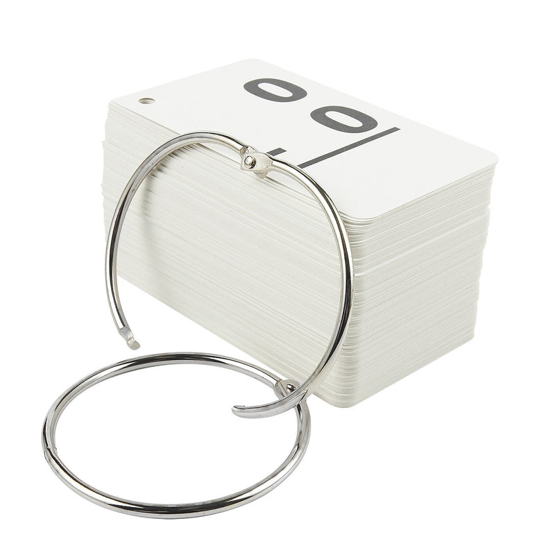 169-Pieces Math Flash Cards - Subtraction Flash Cards 0-12 - Includes 2 Stainless Steel Rings and Drawstring Carrying Pouch - Suitable for Kids Ages 6 and Up, 2.8 x 5 Inches
