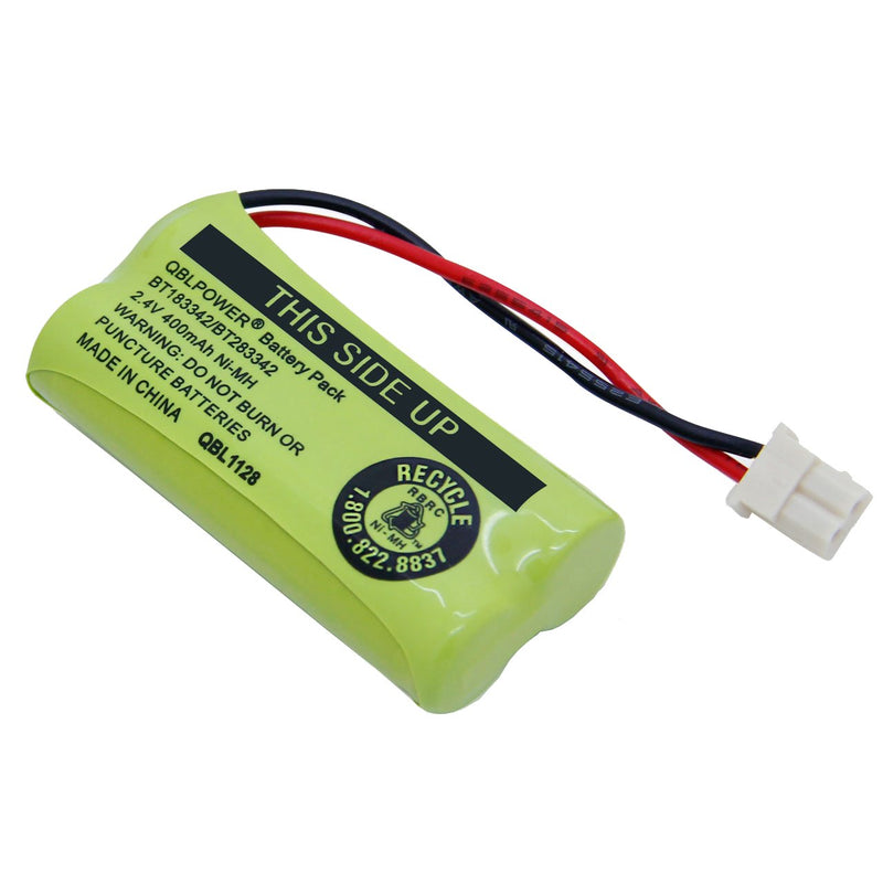 Australia QBLPOWER BT-183342 BT-283342 BT-166342 BT-266342 BT-162342 BT-262342 Battery Compatible with VTech CS6114 CS6419 CS6719 AT&T EL52300 CL80111 Cordless Phone(Pack of 4)